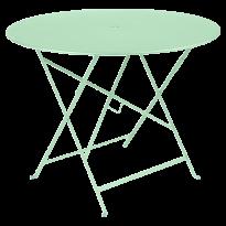 TABLE PLIANTE BISTRO 96CM VERT OPLAINE de FERMOB
