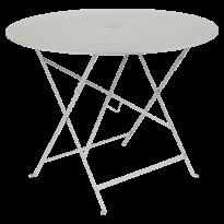 TABLE PLIANTE BISTRO 96CM, Gris argile de FERMOB