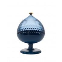 Centre de table, boite de rangement PUMO de Kartell, Bleu