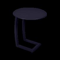 TABLE BASSE DÉPORTÉE ALIZÉ, Bleu abysse de FERMOB