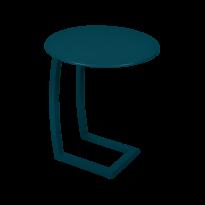 TABLE BASSE DÉPORTÉE ALIZÉ, Bleu acapulco de FERMOB