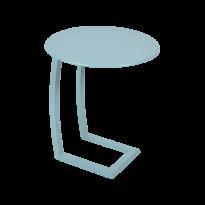 TABLE BASSE DÉPORTÉE ALIZÉ, Bleu lagune de FERMOB