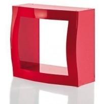 Etagère modulable BOOGIE WOOGIE de Magis, Rouge