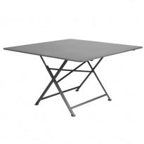 TABLE PLIANTE CARGO 130 X 130 CM, Gris orage de FERMOB