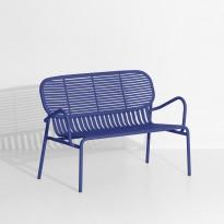 Sofa double WEEK-END de Petite Friture, Bleu outremer