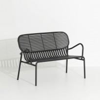 Sofa double WEEK-END de Petite Friture, Noir