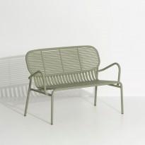 Sofa double WEEK-END de Petite Friture, Vert Jade