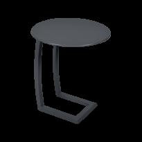 TABLE BASSE DÉPORTÉE ALIZÉ, Carbone de FERMOB