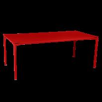 TABLE CALVI Coquelicot de FERMOB