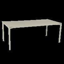 TABLE CALVI Gris argile de FERMOB