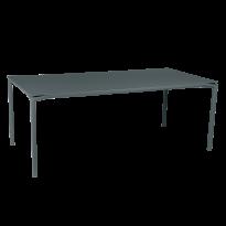TABLE CALVI Gris orage de FERMOB