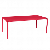 TABLE CALVI Rose praline de FERMOB