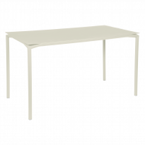 TABLE HAUTE CALVI Gris argile de FERMOB