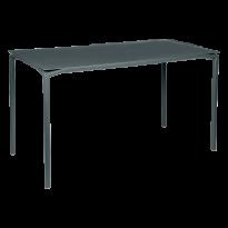 TABLE HAUTE CALVI Gris orage de FERMOB