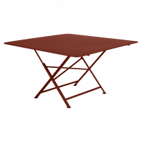 TABLE PLIANTE CARGO 130 X 130 CM, Ocre rouge de FERMOB