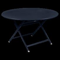 TABLE RONDE CARACTÈRE, Bleu abysse de FERMOB