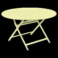 TABLE RONDE CARACTÈRE, Citron givré de FERMOB