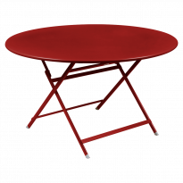 TABLE RONDE CARACTÈRE, Coquelicot de FERMOB