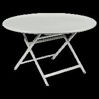 TABLE RONDE CARACTÈRE, Gris argile de FERMOB