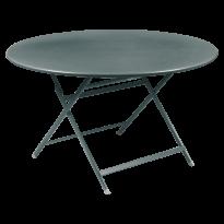TABLE RONDE CARACTÈRE, Gris orage de FERMOB
