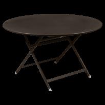 TABLE RONDE CARACTÈRE, Rouille de FERMOB