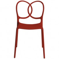 CHAISE SISSI ROUGE de DRIADE