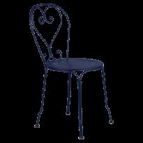 CHAISE 1900, Bleu abysse de FERMOB