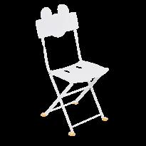 CHAISE BISTRO ENFANT MICKEY MOUSE©, Blanc coton de FERMOB