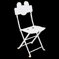 CHAISE BISTRO MICKEY MOUSE©, Blanc coton de FERMOB