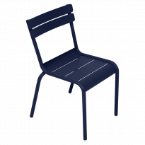 CHAISE LUXEMBOURG KID, Bleu abysse de FERMOB