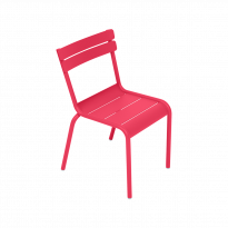 CHAISE LUXEMBOURG KID, Rose praline de FERMOB