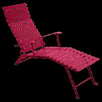 CHAISE LONGUE BISTRO ROSE PRALINE de FERMOB