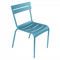 CHAISE LUXEMBOURG, Bleu turquoise de FERMOB