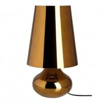 LAMPE A POSER CINDY DE KARTELL, OR FONCÉ