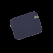 GALETTE COLOR MIX 38X30 CM, Bleu nuit de FERMOB