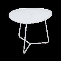 TABLE BASSE COCOTTE blanc coton, de FERMOB