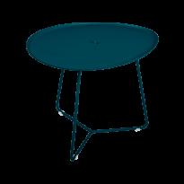 Table basse COCOTTE de Fermob, bleu acapulco