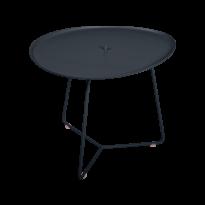 TABLE BASSE COCOTTE carbone, de FERMOB