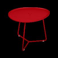 TABLE BASSE COCOTTE coquelicot, de FERMOB