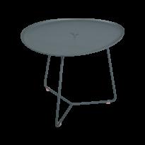 TABLE BASSE COCOTTE gris orage, de FERMOB