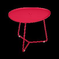 TABLE BASSE COCOTTE rose praline, de FERMOB