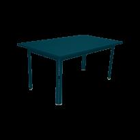 TABLE 160 X 80 COSTA Bleu acapulco de FERMOB