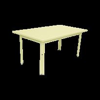 TABLE 160 X 80 COSTA Citron givré de FERMOB