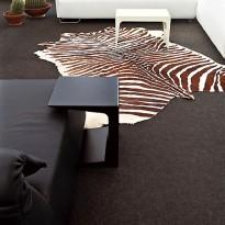 TABLE BASSE CU 65, Noir de KRISTALIA