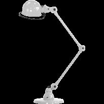 LAMPE A POSER LOFT D6440 DE JIELDÉ, GRIS ARGENT