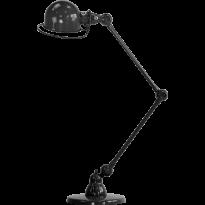 LAMPE A POSER LOFT D6440 DE JIELDÉ, NOIR MARTELÉ