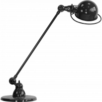 LAMPE A POSER LOFT D6000 DE JIELDÉ, NOIR MARTELÉ