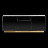 CONSOLE TV ENFILADE RED EDITION | SONOS, Laqué noir de RED EDITION