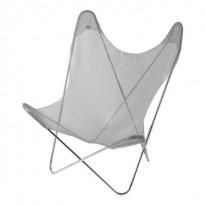 Fauteuil AA Le labo design de Airborne, Structure Inox, Cotte de maille
