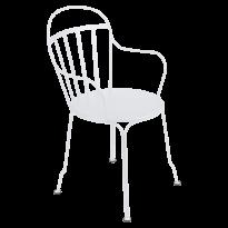 Fauteuil LOUVRE de Fermob blanc coton